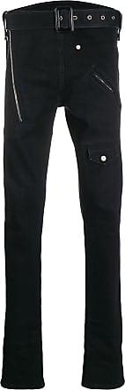 Zilver Calça jeans reta - Preto