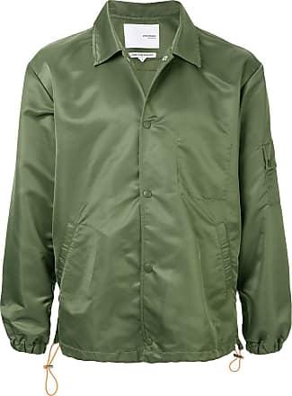 Yoshiokubo jacquard coach jacket - Green