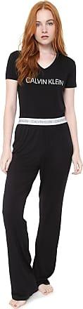 Calvin Klein Underwear Pijama Calvin Klein Underwear Visco Modern Preto