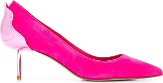 Le Silla Sapato Petalo de camurça com salto 60mm - Rosa
