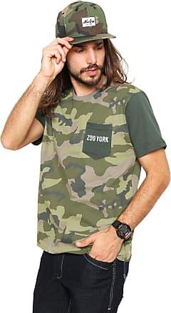 Zoo York Camiseta Zoo York Camouglage Verde