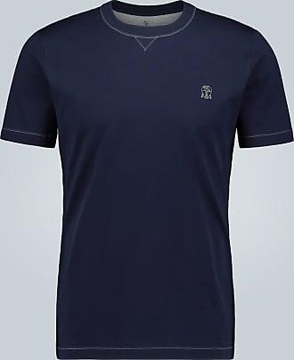 Brunello Cucinelli T-Shirt aus Baumwolljersey