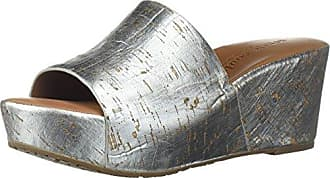 91310c13988 Gentle Souls by Kenneth Cole Womens Forella Platform Slip On Sandal Sandal