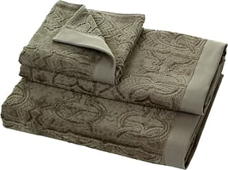 Roberto Cavalli Logo Towel - Gray 905 - Hand Towel