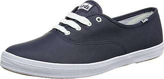 Keds Womens Champion Core Leather Trainers, Blue (Navy), 4 UK 37 EU