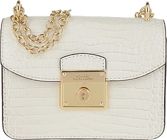 Lauren Ralph Lauren Cross Body Bags - Beckett Mini Crossbody Bag Vanilla - white - Cross Body Bags for ladies
