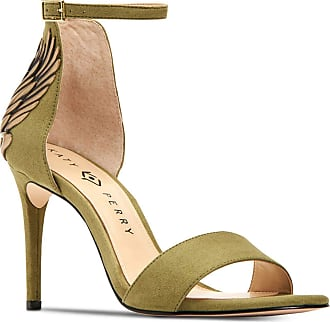 Katy Perry Womens The Alex Open Toe Casual Ankle Strap Sandals, Moss, Size 5.0 U US