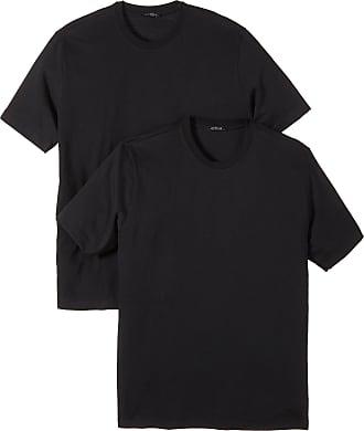 Schiesser Mens Rundhals T-Shirt american 008150 Short Sleeve Vest, Black (000-Schwarz), 9 (Gr. XXXL)