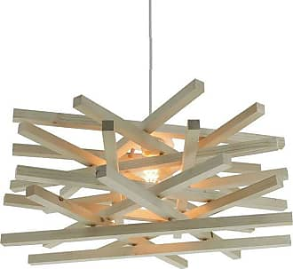 Metropolight NID-Suspension Bois Ø56cm Bois Metropolight