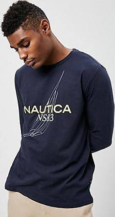 21 Men Nautica Graphic Tee at Forever 21 Navy