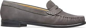 Van Dal Womens Hampden II SH Storm Nubuck Leather Penny Loafer Flats, Size 39 EU