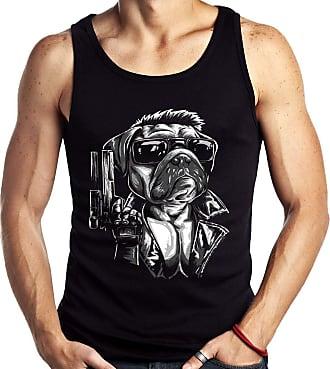 Dragon Store Camiseta Regata Geek Pugnator Pug Exterminador Parodia Filme