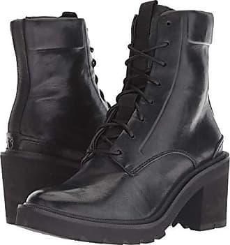 89c7c83138a89 Frye Savannah Combat (Black Antique Soft Vintage) Womens Lace-up Boots