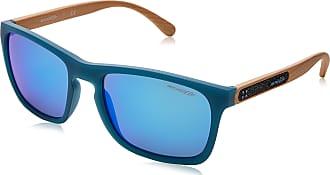 Arnette Mens 0AN4236 245625 56 Sunglasses, Matte Turquoise/Greenmirrorlightbluee