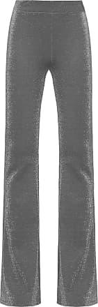 Shoulder Calça Lurex Flare Shoulder - Cinza
