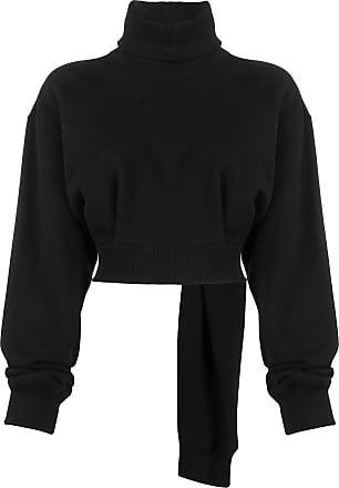 Opening Ceremony cropped roll-neck jumper - Black