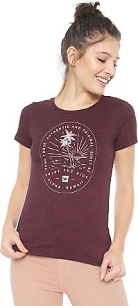 3ebc289e7e Hang Loose Camiseta Hang Loose Tropic Vinho