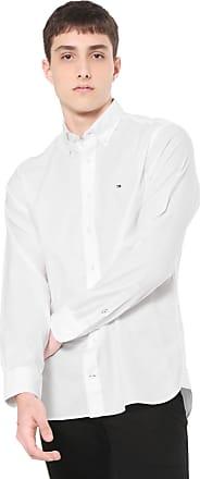 1c47dc92960 Tommy Hilfiger Camisa Tommy Hilfiger Regular Fit Basic Branca
