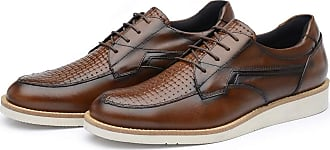 Avalon Organics Sapato Casual Couro Avalon Sport Ben Caramelo Tamanho:41