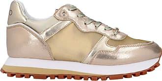 Liu Jo Scarpe Sneaker Running Liu-Jo mod. Wonder in Ecopelle/mesh Gold Donna DS20LJ14