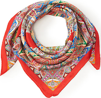 Roeckl Scarf Mini Alhambra Paisley Roeckl red
