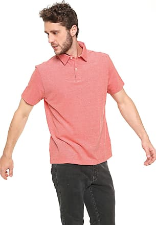 Richards Camisa Polo Richards Reta Basica Laranja a038bc7913830