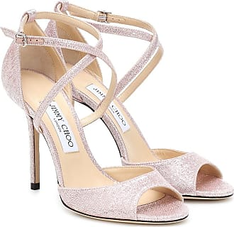Jimmy Choo London Sandali Emsy 100 in lamé