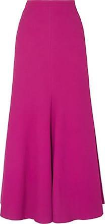 Giambattista Valli Crepe Maxi Skirt - Fuchsia