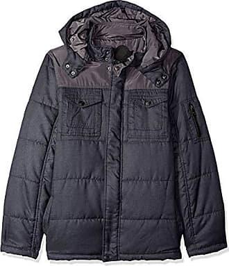 Urban Republic Mens Light Wool/Satin Jackets, Black, M