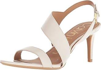 8608830856e4 Calvin Klein Womens Lancy Heeled Sandal Soft White 8.5 Medium US
