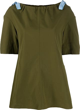 Marni bow detail tunic - Green