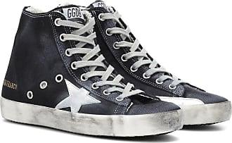 Golden Goose Sneakers Francy in tessuto e pelle 2a629a658ea