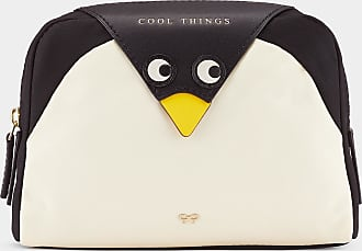 Anya Hindmarch Penguin Cool Things Pouch in Black