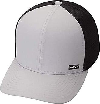 Hurley Mens League Dri-Fit Snapback Baseball Cap, Wolf Grey, Qty