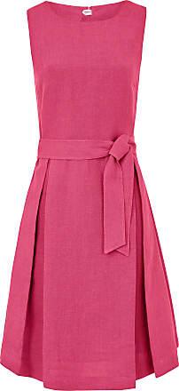 Peter Hahn Kleid aus 100% Leinen ohne Arm Peter Hahn pink 21d1416ad8