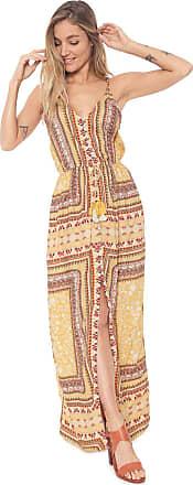 Dress To Vestido Dress to Longo Amarilla Amarelo