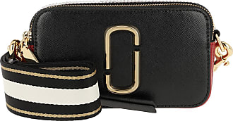 Marc Jacobs Cross Body Bags - Snapshot Small Camera Bag Black Black/Red - black - Cross Body Bags for ladies