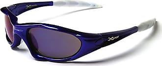 X Loop New X LOOP Mens Or Ladies Sport Sunglasses (BLUE/WHITE ARM)