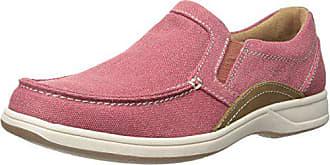 Florsheim Mens Lakeside Moc Toe Slip-On Shoe, Red/Brown, 11.5 M US