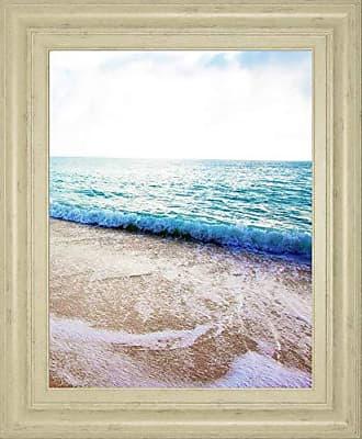 Classy Art Golden Sands I by Susan Bryant Framed Print Wall Art, Blue