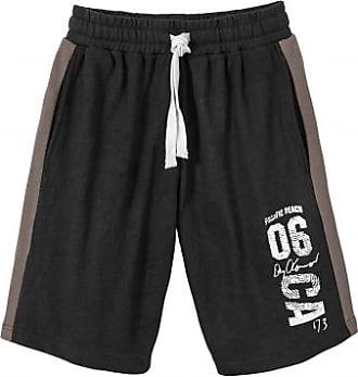 Blancheporte Bermuda sport détente molleton gratté - noir 3c3eec621b6