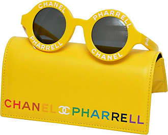 aaac35a853 Chanel X Pharrell Capsule Collection Yellow Jaune Sunglasses New
