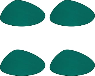 Hey-Sign Stone Tischset 4er Set 34x29cm - jade/Filz in 5mm Stärke/LxBxH 34x29x0.5cm