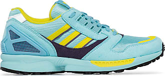 adidas ZX 8000 two-tone suede sneakers - Blue