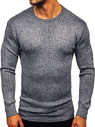 Pullover Sweater Strickpullover Feinstrick V-Neck Pulli Herren BOLF 5E5 Classic