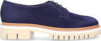 Santoni Flat Shoes blue