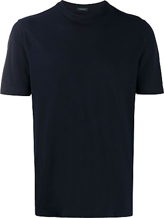 Zanone relaxed-fit cotton T-shirt - Blue