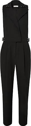 Michael Kors Embellished Crepe Jumpsuit - Black