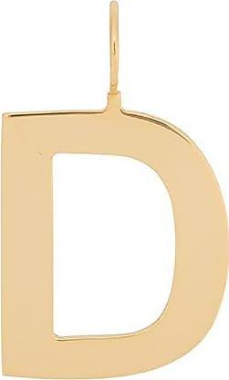 Jack Vartanian Pingente Pop! D prata com banho ouro 18k - Dourado