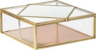 &Klevering Aufbewahrungsbox Pfirsich - Gold